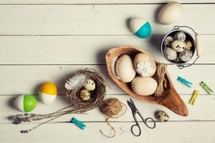 La forma más fácil y original de decorar la mesa de Pascua