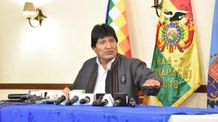 Morales le pidió unión a los indígenas y calificó de genocidio el ataque a Siria