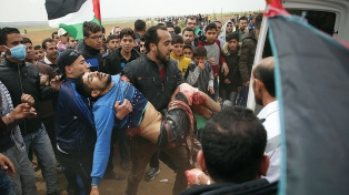 """Human Rights Watch consideró """"ilegales y calculadas"""" las muertes de palestinos por fuego israelí"""