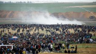 La Gran Marcha del Retorno empezó con un baño de sangre en la Franja de Gaza