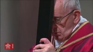"""El Papa, """"perturbado"""", reclamó una """"acción por la paz en Siria"""""""
