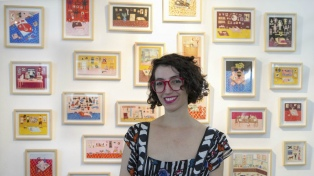 """María Luque: """"Me gusta que haya en mis dibujos un pedacito de las obras de los artistas que admiro"""""""