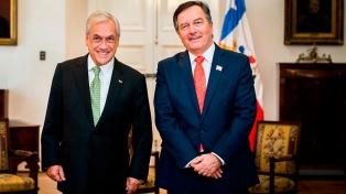 El Gobierno chileno no nombrará embajador en Venezuela