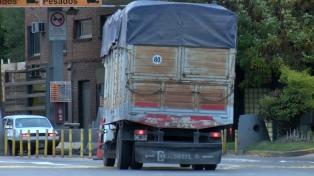 Rige la restricción de circulación para vehículos de gran porte en las rutas bonaerenses