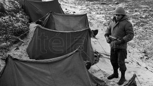 Homenaje en fotos a los caídos en Malvinas