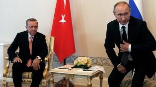 Putin y Erdogan se reúnen antes de la cumbre sobre Siria con Irán