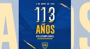 Las tuiteros xeneizes celebran el 113 cumpleaños de Boca