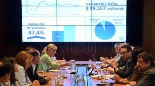 La recaudación de marzo subió 12,5% a nivel nominal y 36,9% sin considerar el blanqueo