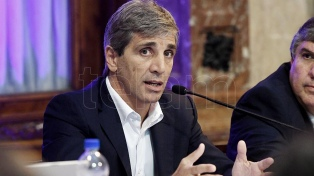 """Caputo aseguró que el acuerdo con el FMI """"superó las expectativas de los analistas"""""""