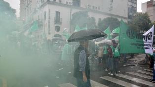 Jornada de protestas en la Ciudad de Buenos Aires