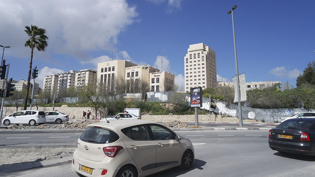 CIUDAD NUEVA. En Jerusalén la construcción no se detiene y es uno de los motores de su economía.