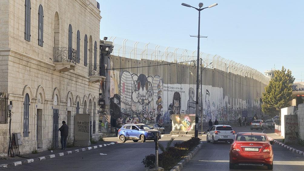EL OTRO MURO. Es el que separa territorio israelí de las ciudades bajo influencia de la Autoridad Nacional Palestina.