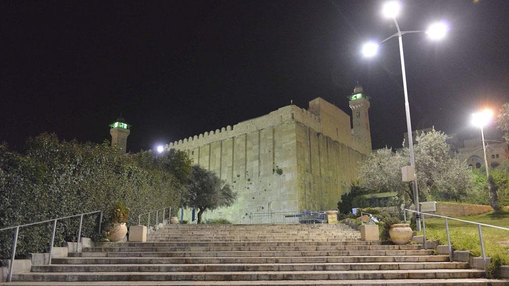 HEBRÓN III. La Tumba del Patriarca Abraham. Es sitio de peregrinación de musulmanes, judíos y cristianos.