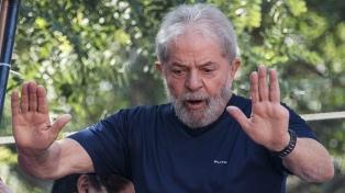 """Aliados regionales de Lula denuncian que es un """"preso político"""""""