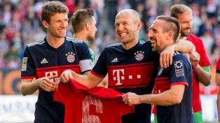 Bayern Munich confirmó su reinado en la Bundesliga con el sexto título consecutivo
