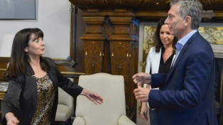 Macri recibió a Susana Trimarco en la Casa Rosada