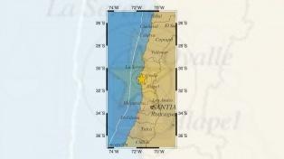 Un sismo de magnitud 6,2 sacudió la zona centro y norte