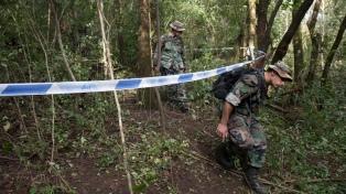 Murieron los cuatro ocupantes del avión que se estrelló