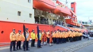 El rompehielos Almirante Irizar finaliza su campaña Antártica 2018-2019