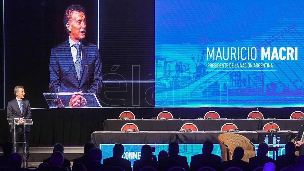 Presidente argentino asiste a congreso de Conmebol — Fútbol