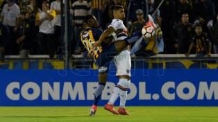 Central sólo empató como local con San Pablo en la ida de la Sudamericana