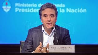 Dujovne viajó esta noche a la sede del FMI en Washington
