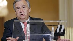 La ONU pidió cooperación a los gobiernos para hacer frente a la crisis del agua