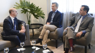 Macri recibió al ministro de Educación de Francia, promotor de una gran reforma en su país