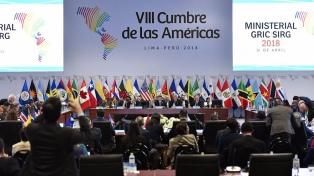 """Cancilleres consensuaron un """"compromiso frente a la corrupción"""""""