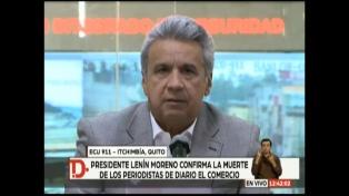 """Moreno dio un plazo de 10 días a sus funcionarios para capturar a """"El Guacho"""""""
