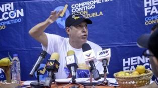 """El opositor Falcón llama a votar para """"salvar"""" al país"""