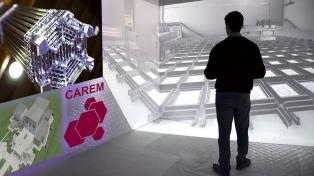 Desarrollaron escenarios virtuales para formar al personal de un futuro reactor nuclear