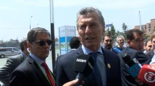 Macri dialogó con el presidente de Panamá sobre Venezuela y turismo