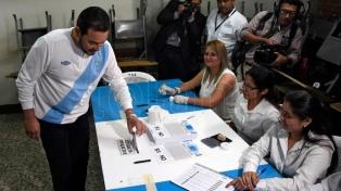 Los guatemaltecos decidieron en las urnas el futuro de su diferendo con Belice