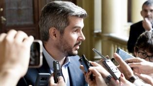 """Peña afirmó que el Gobierno trabaja para cumplir """"la meta del 15% de inflación"""""""