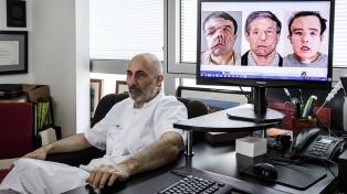 Por primera vez en la historia un hombre pasó por dos trasplantes de cara