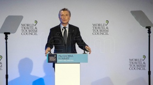 """Macri: """"La Argentina ha vuelto al mundo con mucho para ofrecer"""""""