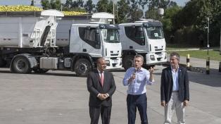 """""""Queremos llevar nuestros productos de calidad a las góndolas del mundo"""", aseguró Macri"""