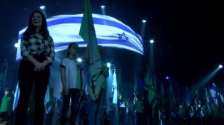 Israel inauguró con un gran acto los festejos del 70mo. aniversario de su independencia
