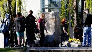 Realizaron actos por el 75 aniversario del levantamiento del gueto de Varsovia