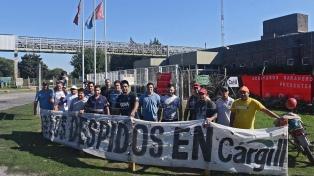 Cargill suspendió por 10 días la operación en dos plantas