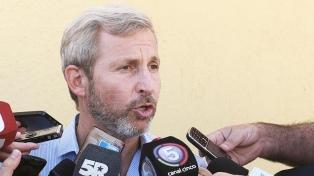 """Frigerio dijo que el Gobierno no quiere """"influir"""" en el debate"""