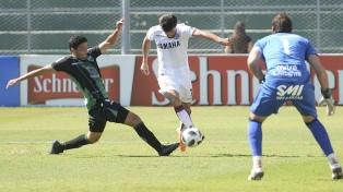 San Martín y Lanús igualaron 1 a 1 en San Juan
