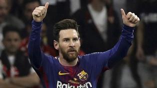 Messi campeón: Barcelona goleó al Sevilla y ganó la Copa del Rey