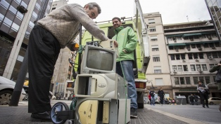 Los Puntos Verdes como referente para los vecinos que quieren reciclar materiales