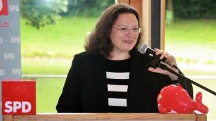 Por primera vez, una mujer queda al frente del Partido Socialdemócrata alemán