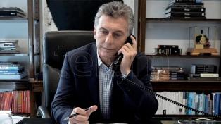 """Macri felicitó al presidente electo y lo invitó a """"trabajar juntos"""""""