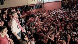 """El nuevo presidente prometió que será """"un factor de unión"""""""