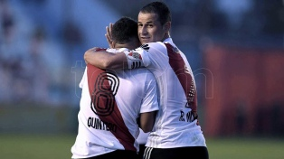 River logró su sexto triunfo al hilo en la Superliga
