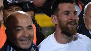 Messi y Agüero se reunieron con Sampaoli en Barcelona